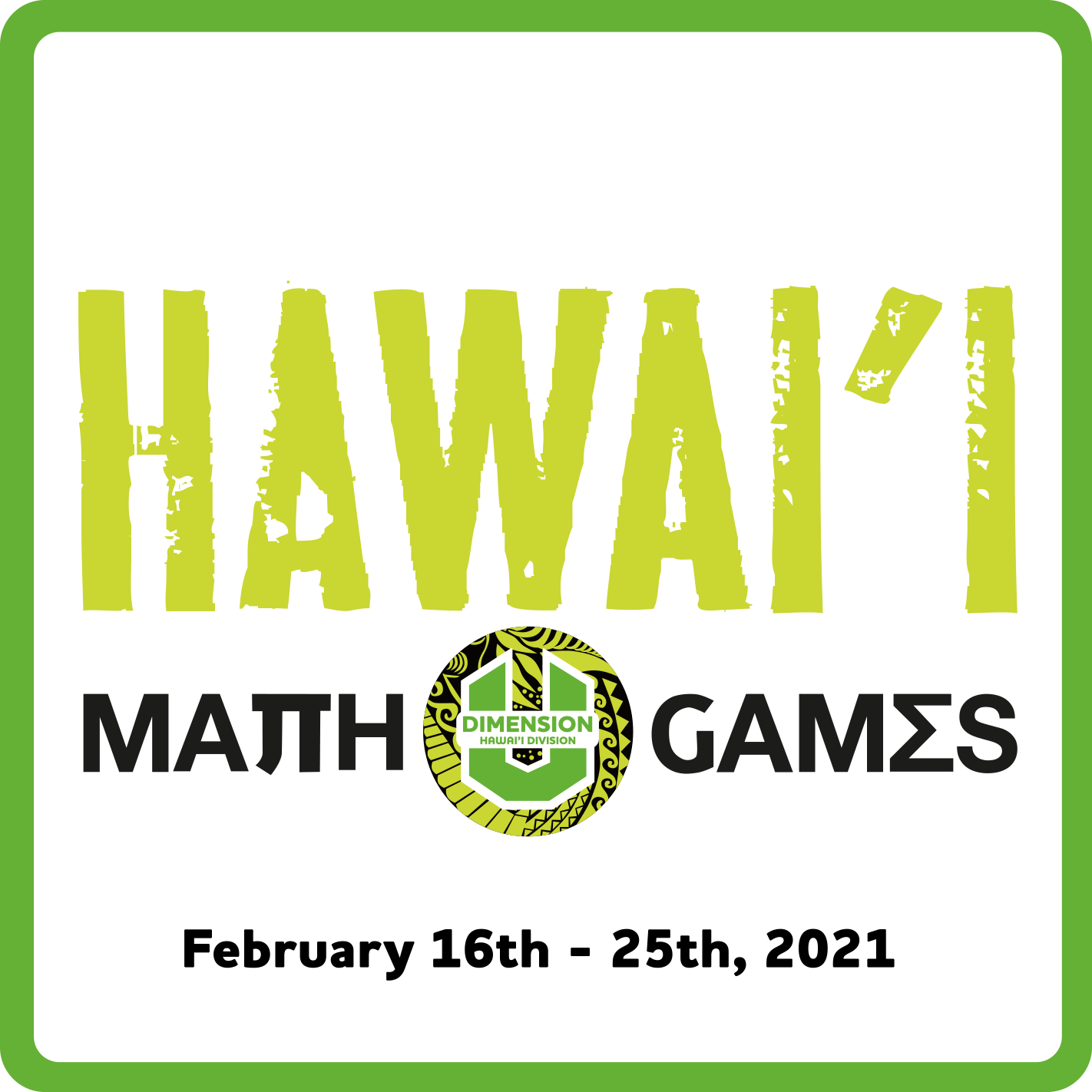 Hawaii Math Games