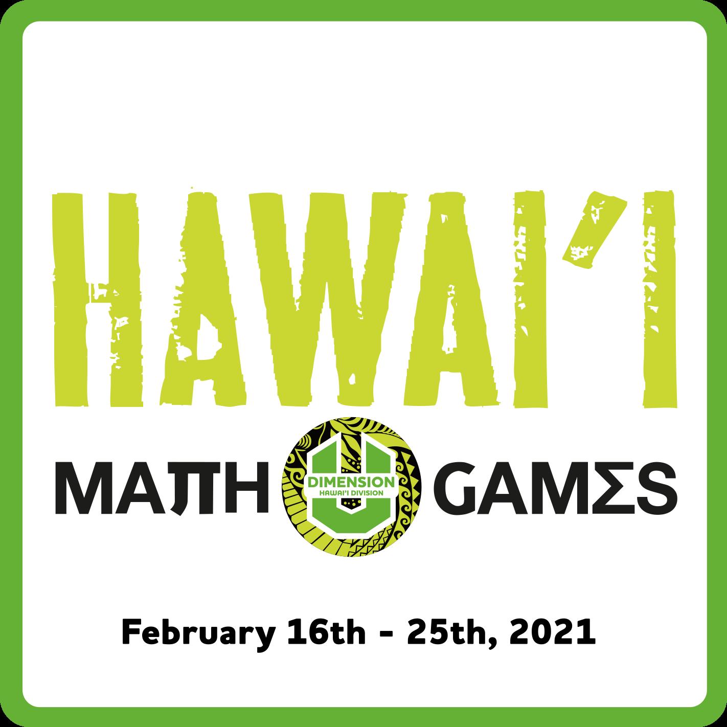 Hawaii Math Games