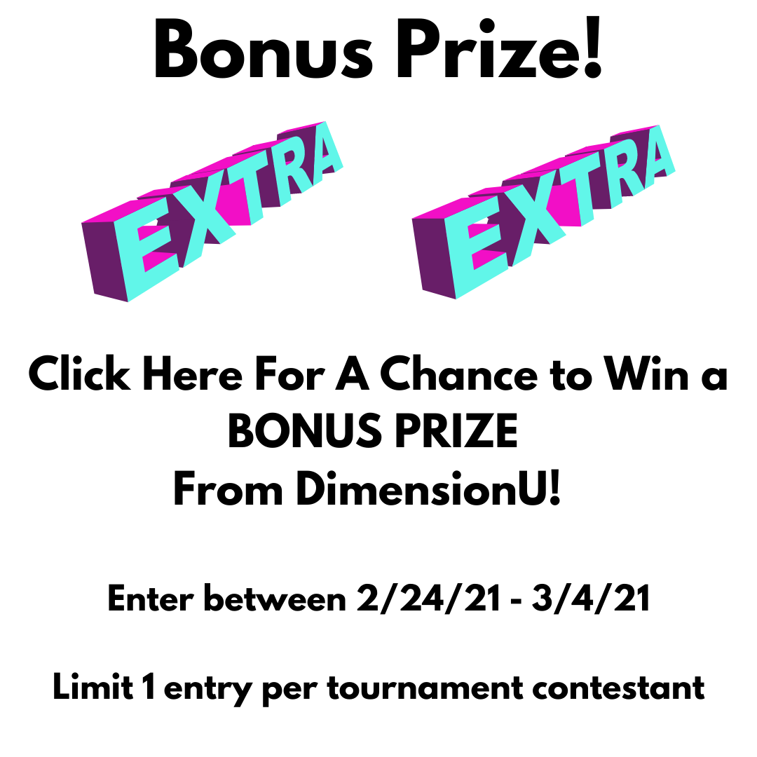Enter for a chance to win a bonus prize